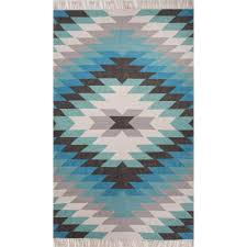 jaipur rugs desert mojave 2 x 3 indoor outdoor rug blue gray
