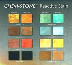Valspar Solid Concrete Stain Color Chart Concrete Sealer Color Chart Benibul Co