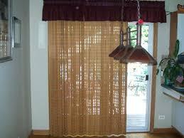 glass door coverings woven wood sliding woven wooden blinds sliding glass door blinds ideas