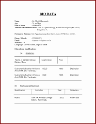 Sample Resume Normal Resume Format Download Cometmerchcom
