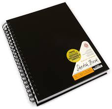 2 inch notebooks amazon com pentalic sketch book wirebound 8 1 2 inch by 11 inch