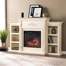 boston loft ivory electric fireplace southern enterprises chamberlain bennett infrared electric fireplace