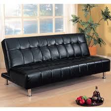 black leather sofa bed black leather sofa