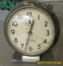 vintage 1930 s westclox big ben wind up chime alarm clock not working for