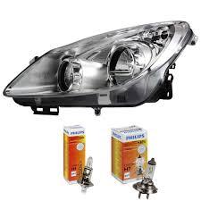 Headlight Left Vauxhall Corsa D Built 06 10 35 Door Chrome H7 H1 Incl Ebay