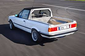 BMW Secretly Built an E30 Pickup Truck in 1986