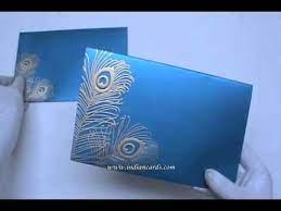 Hindu Wedding Cards Indian Wedding Cards Indian Wedding Invitations Youtube