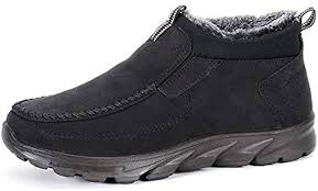 COSIDRAM Men Shoes Winter Snow Boots Cotton ... - Amazon.com