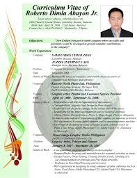 halimbawa ng resume filipino cipanewsletter sample ng resume