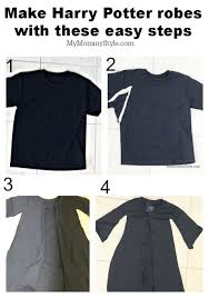 Harry Potter Robe Pattern Classy Harry Potter Robes DIY Made Out Of A TShirt My Mommy Style