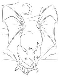 Small Picture Cute Vampire Bat coloring page Free Printable Coloring Pages