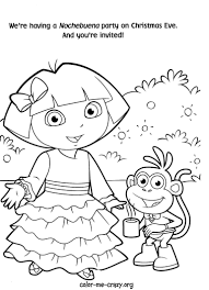 Dora Coloring Pages Throughout Diego - creativemove.me