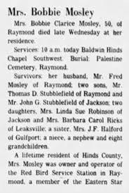 Obituary for Bobbie Clarice Molev - Newspapers.com