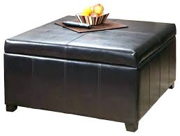 oval leather ottoman. Delighful Leather Large Oval Ottoman Storage Cocktail    On Oval Leather Ottoman T