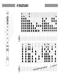 5 Soprano Recorder Fingering Chart Soprano Recorder Finger