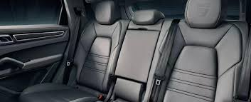 2019 porsche macan interior rear leather seats