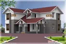 Sloping Roof Design Ideas Sloping Roof Home Design Vatakara Kozhikkode Kerala Home