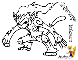 Small Picture Pokemon Coloring Pages Chimchar Coloring Page