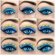 how to create ugly duckling eye art