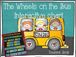Chart A Bus Wheels On The Bus Interactive Chart Mrs Jumps Class