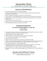 Medical Field Resume Templates Best of Medical Assistant Resume Examples Best Resume Template