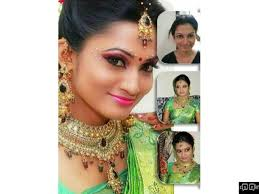 we are the no1 bridal makeup artist in nagapattinam bridal makeup in nagapattinam green trends in nagapattinam