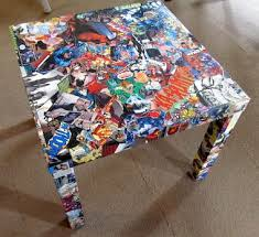 diy comic book desk. Comic Books Remind Me Of Growing Up In A House Brothers! If You Are Diy Book Desk C