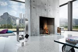 The Blomus glass fireplace screen, available at Amazon for $364.49.