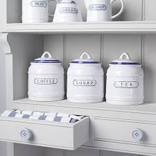vintage style nautical kitchen jars by the contemporary home |  notonthehighstreet.com ---