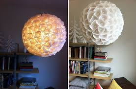 chandelier simple white paper diy chandeliers that will light up your day module 39