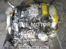 USED ENGINE TOYOTA 3C 2.2 TURBO DIESEL | Shine Motors
