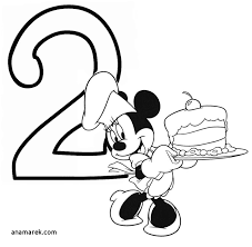 Mickey Mouse 1st Birthday Coloring Pages Luxury 57 Best Baby Mickey