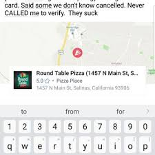 photo of round table pizza salinas ca united states this specific