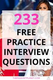 1000 ideas about pageant interview questions 233 practice pageant questions