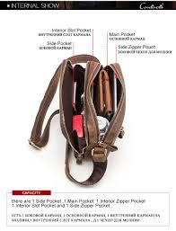 Details About Genuine Leather Mens Messenger Bag Vintage Shoulder Bags High Quality Crossbody