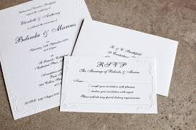 How To Reply To Wedding Rsvp Card The Classic Card