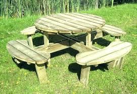 wooden picnic tables wooden picnic table wooden picnic tables round tables trend round dining table round wooden picnic tables