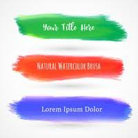 free watercolor brushes illustrator watercolor brushes free vector art 4063 free downloads