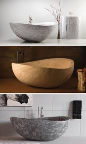 8 Stunning Examples Of Bathtubs Made From Solid Stone // The ...