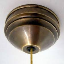 ceiling pull switch hand aged brass 2