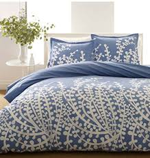 city scene full queen duvet set branches collection french blue duvet with shams