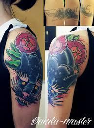 Danila Master Cover Up перекрытие старой татуировки татуировка