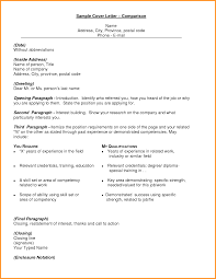 6 Letter With Enclosure Cook Resume