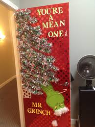 christmas office door decoration. Grinch Doors And Decor On Pinterest Your A Mean One Mr. Romantic Bedroom Decorating Ideas Christmas Office Door Decoration C
