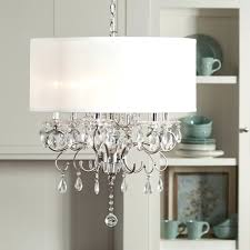 lampshade chandelier diy black chandelier lamp shade update any dining room with this elegant drum shade chandelier intricate glass crystal design that