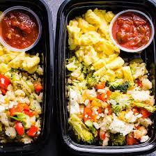 Weekly Lunch Prep Healthy Breakfast Meal Prep