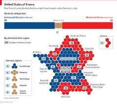 Electoral College Vote Chart Imagining A French Electoral College Daily Chart