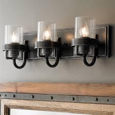 vintage farmhouse lighting. Factory Vintage Iron Bath Light - 3 Farmhouse Lighting