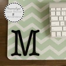 mm desk blotter label