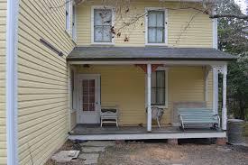 sad sagging front porch roof